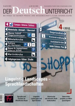 Linguistic Landscapes - Sprachlandschaften
